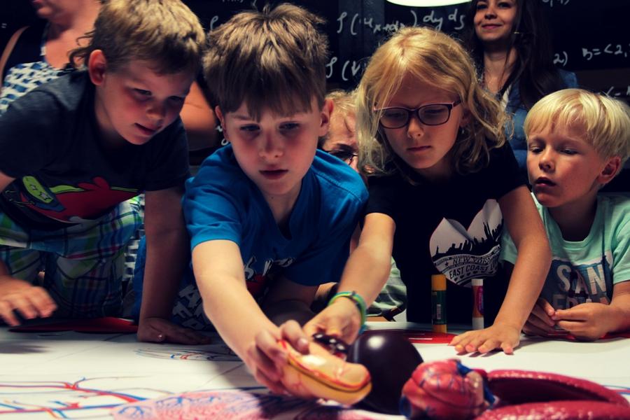 zajęcia dla dzieci w Energetycznym Centrum Nauki